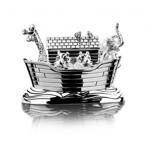 Newbridge Silverware Noah's Ark Music Box